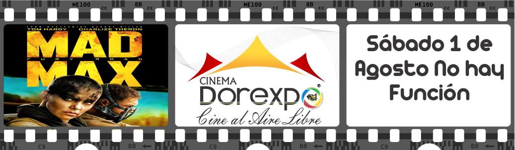 Cine Julio 31 – Agosto 1